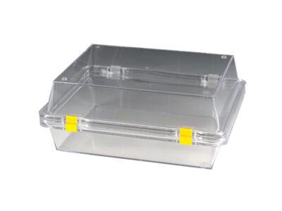 Ambalaj din plastic cu folie de retentie, reutilizabil