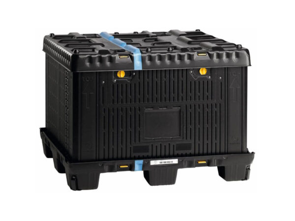Container pliabil mare tip flatpac cu capac FLCL1210-5730