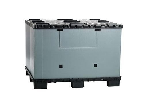 Container pliabil mare tip flatpac cu capac FLCL1412-5735
