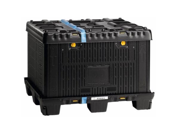 Container pliabil mare tip flatpac cu capac FLCL1511-5731