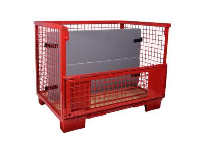 containere automotive metalice cu separatoare interne