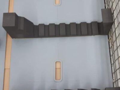 Ambalaj din spumă XLPE și inserții interioare MQQX0772