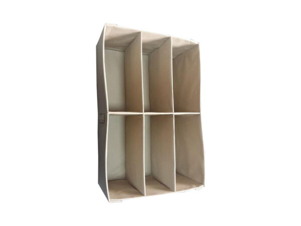 Corrugated plastic dividers laminated with ultrasounds