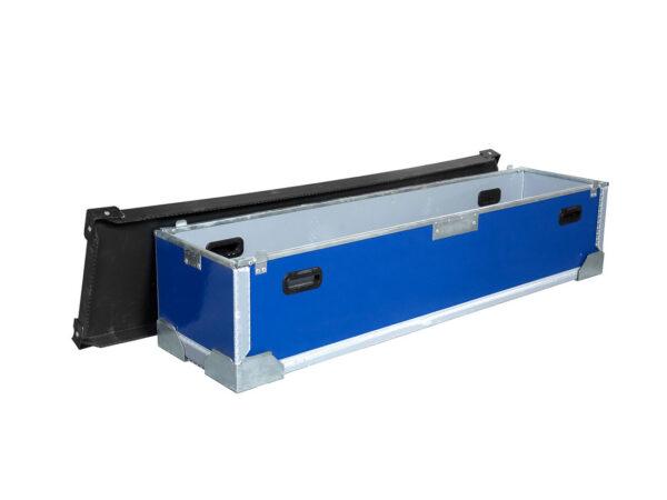 Cutie din Duraflex de 10 mm cu capac si rama U din aluminiu