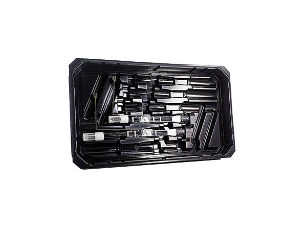 Heavy duty thermoformed trays for intensive use