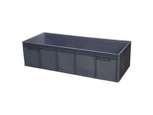Plastic crate cut & weld