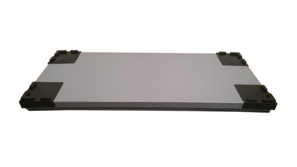 Plastic walls alveolar thickness 10 mm density 3000 g-m2