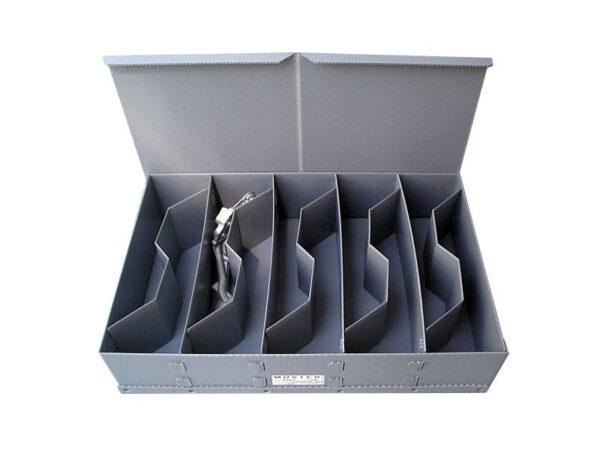 Rigid base separators