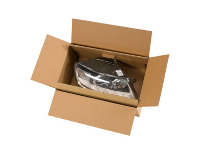 Suspension and retention protective packaging