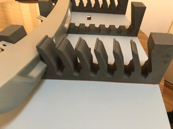 XLPE foam packaging and interior dunnage inserts UXRL1320