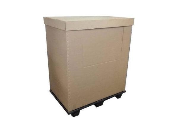 Boxpaleti izotermi cu pereţi din carton si spuma XPE