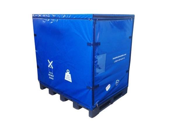 Containere izoterme cu pereti pliabili