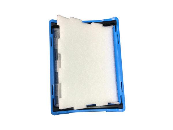 Cutii injectate, cu bariera termică din spumă de EPE aluminizată în interior