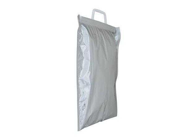 Sacoşe din material cu aspect metalizat din spumă NPE
