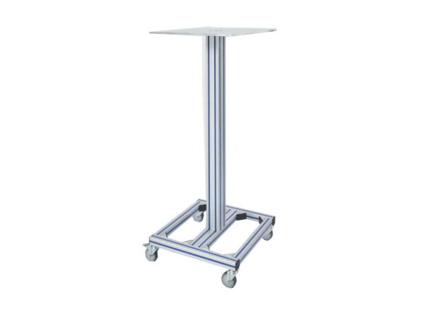 Movable workstation with fixed height